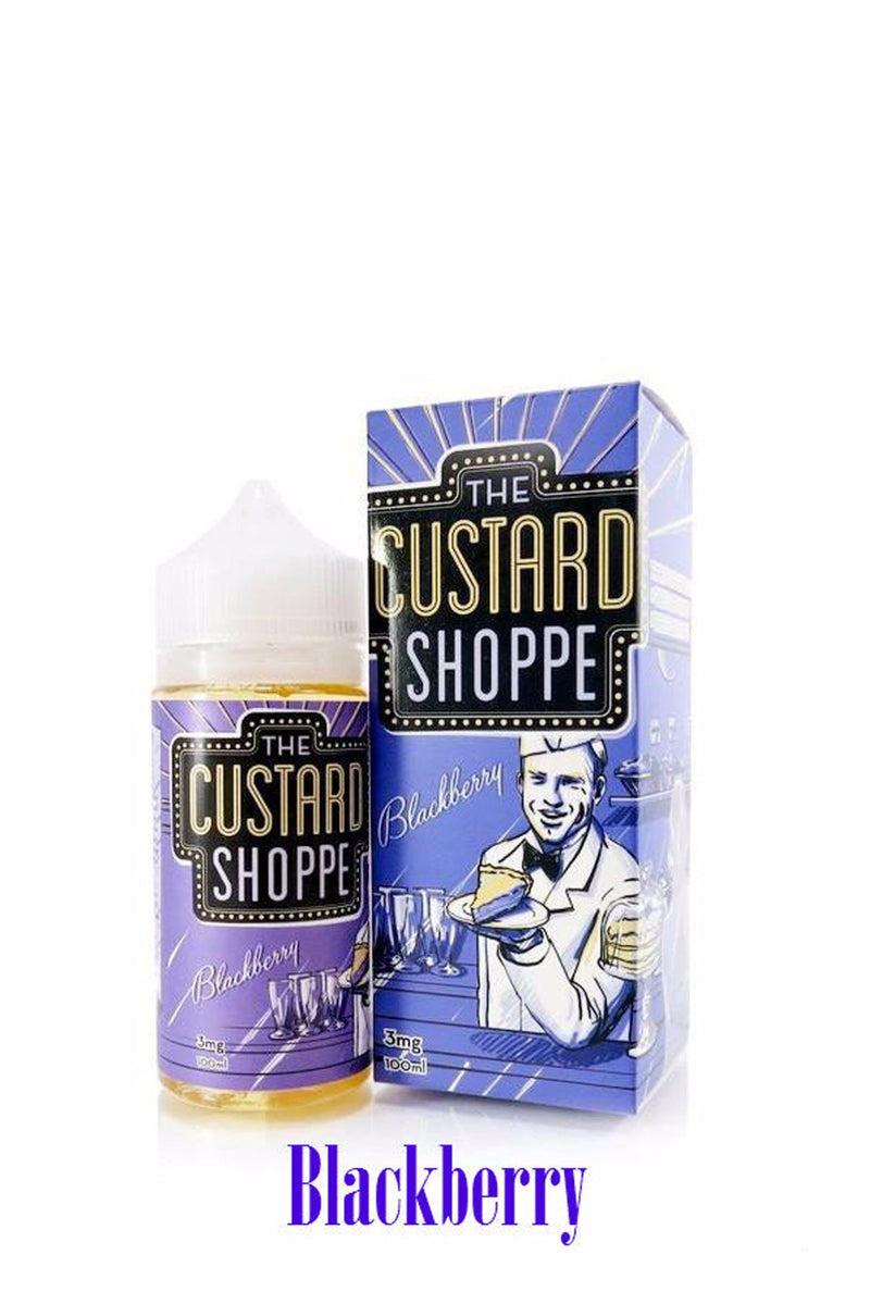 The Custard Shoppe - Blackberry 100mL