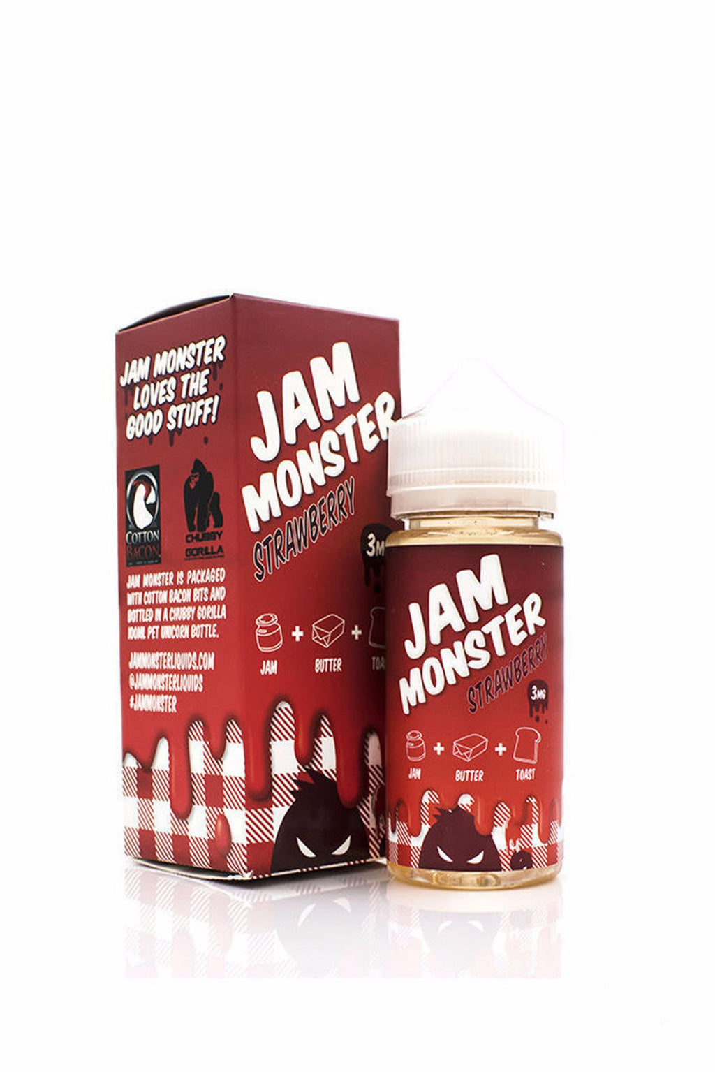 Jam Monster Eliquid - Strawberry 100mL