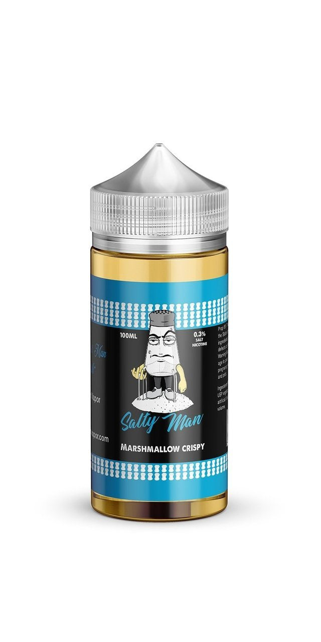 Salty Man 100ml Marshmallow Crispy