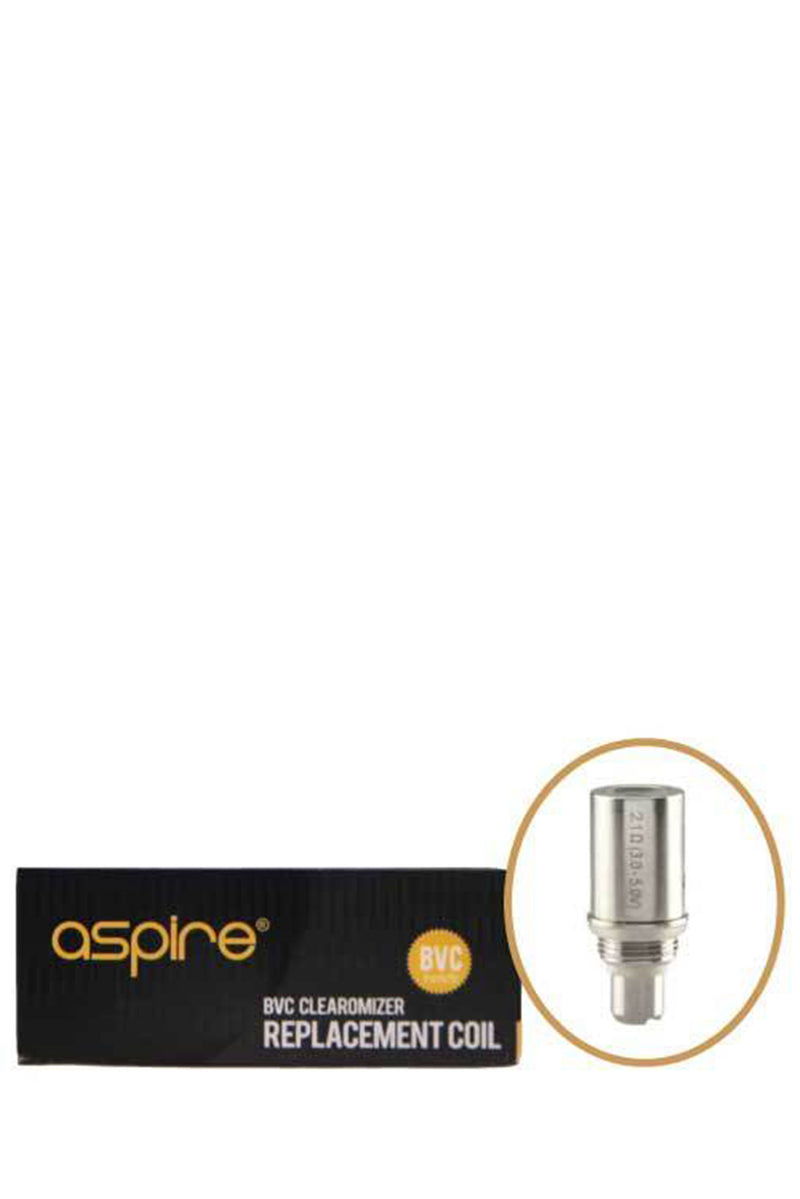 Aspire BVC Coil Pack - (For the CE5, ET, ET-S) - 5 Pack