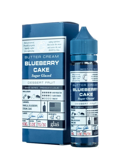 Glas Basix - Blueberry Cake (60mL)