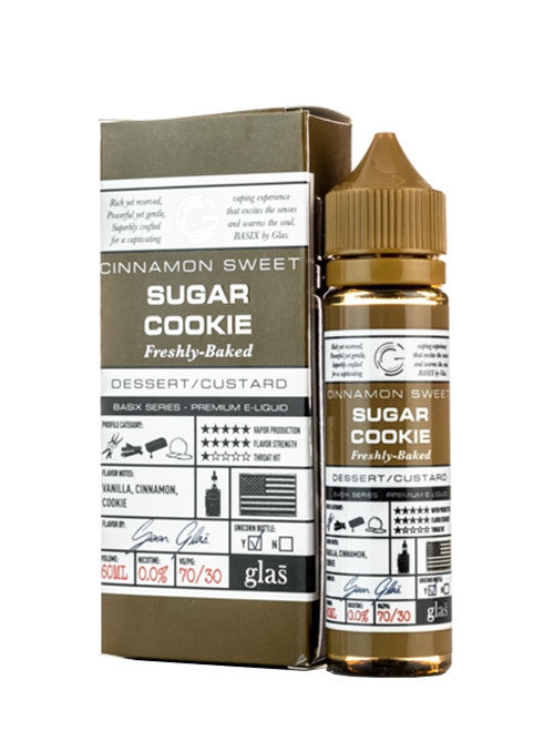 Glas Basix - Sugar Cookie (60mL)
