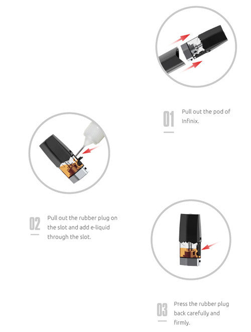 SMOK Infinix Pod Cartridges