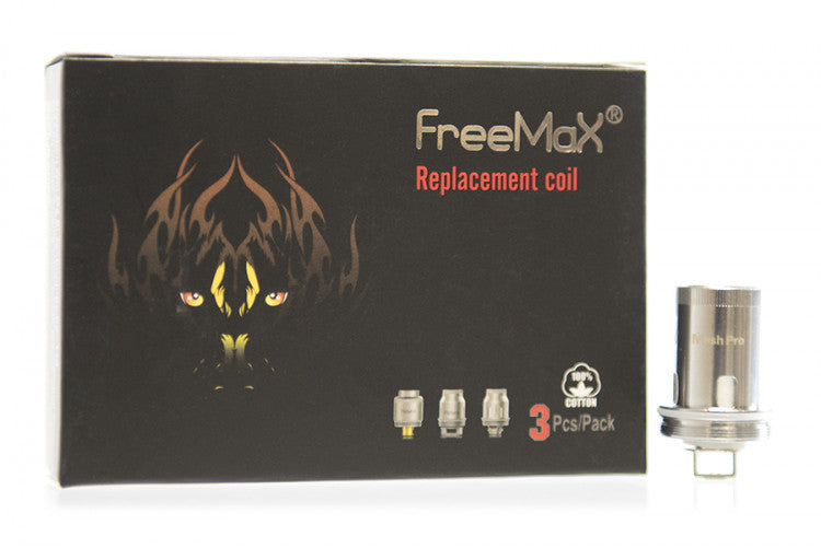 Freemax Mesh Pro .12ohm Single Coil SS316L (3pck)