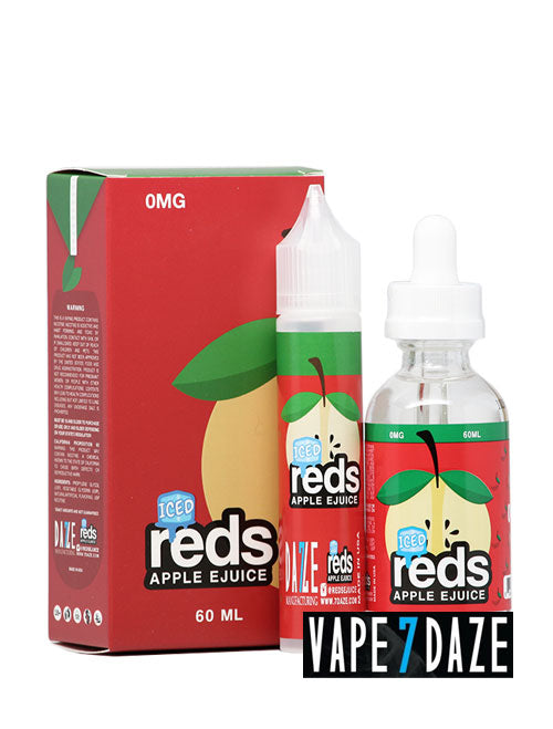 reds iced eliquid