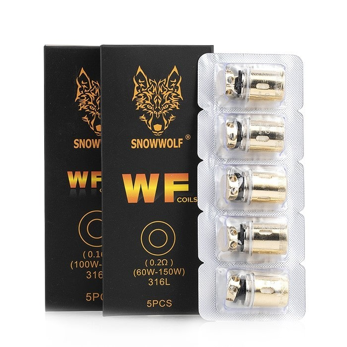 Sigelei Snowwolf Wolf Tank WF Replacement Coils