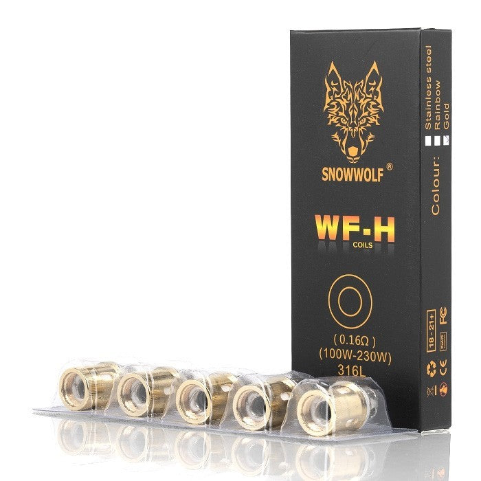 Sigelei Snowwolf Wolf Tank WF-H Replacement Coils