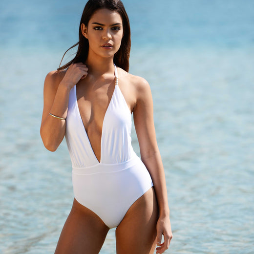 White Bikini Swimwear Separates