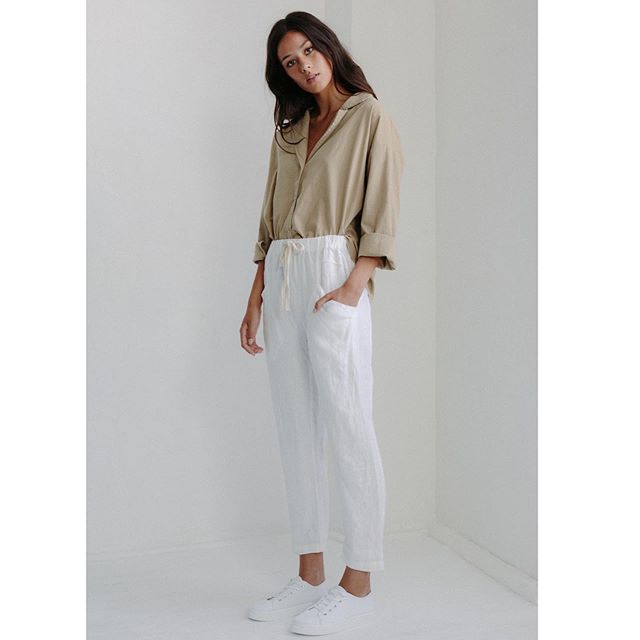 Luxe Linen Pant