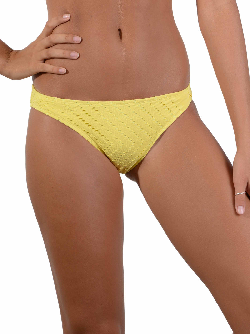 Front of Calypso Hipster Bikini Pant