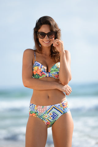 Miami to Rio Ruche Side Retro Pant from Finch Swim!