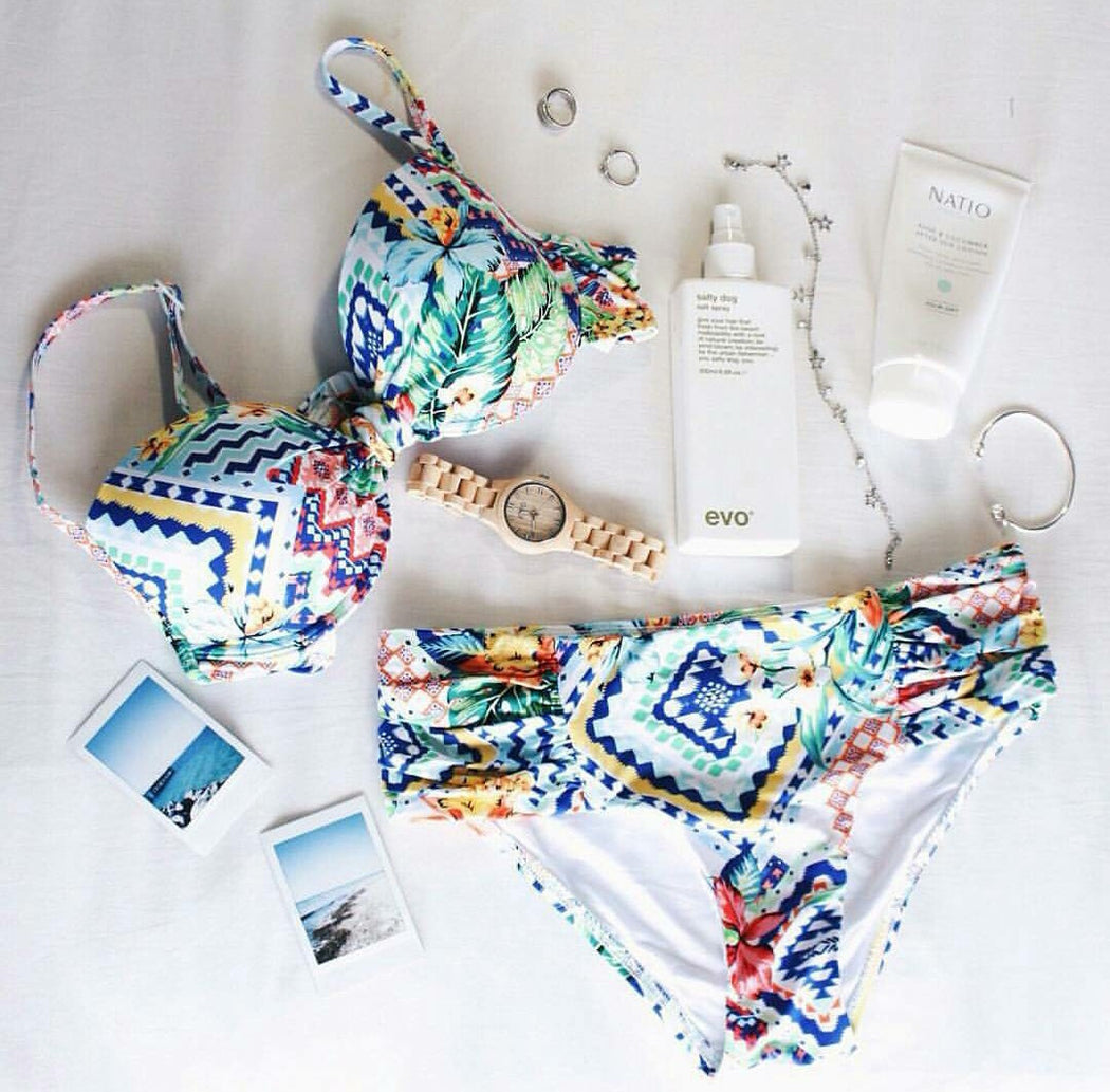 Finch Swim Miami to Rio flatlay