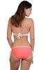 Sea Gypsy Crochet bikini with hipster lycra bottom, back view
