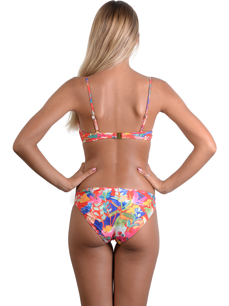 Back view of Havana Ballet Underwire Bikini Top
