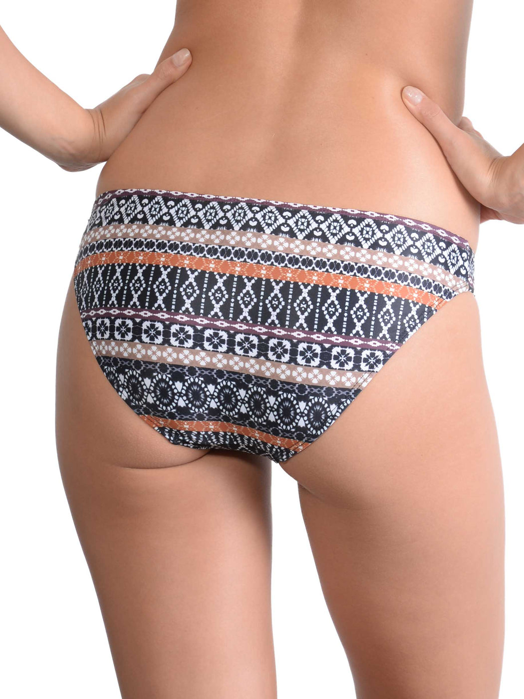 Back view of Inca Hipster Bikini Pant