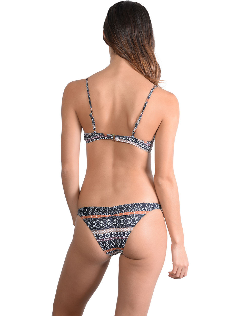 Back view of Inca Underwire Push Up Bikini Top