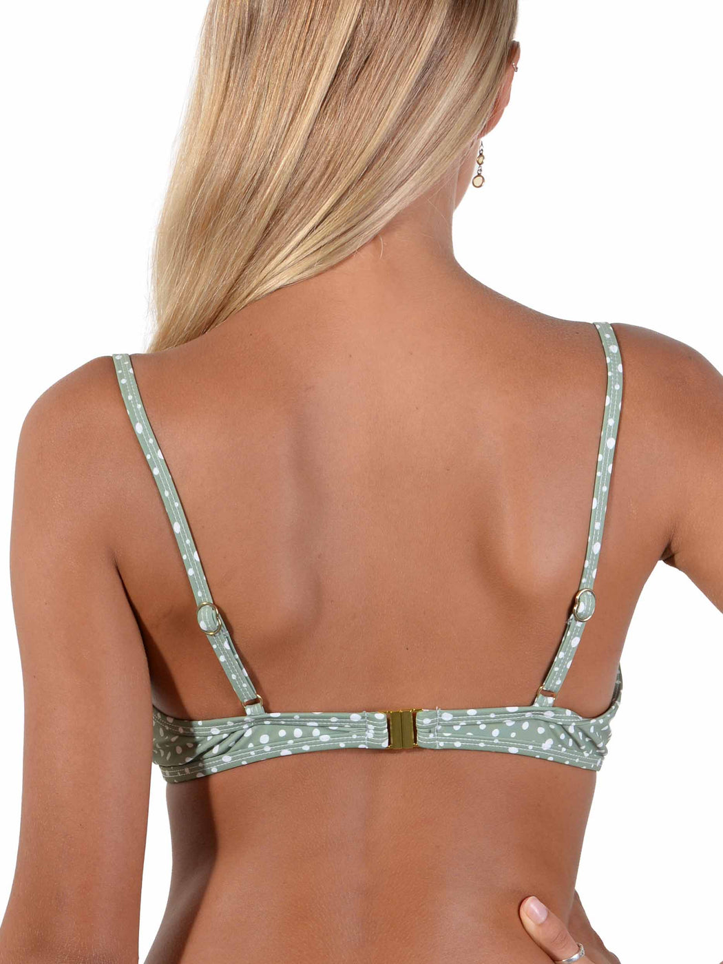 Back of Kokomo Palm Underwire Active Bikini Top