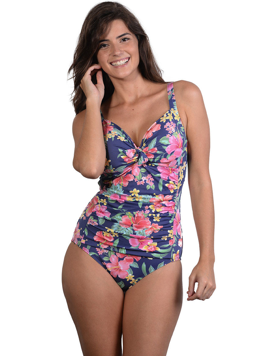 Leilani D-E Cup Ruched Onepiece by Finch Swim