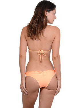 Back view of Summer Glow Triangle Bikini Top