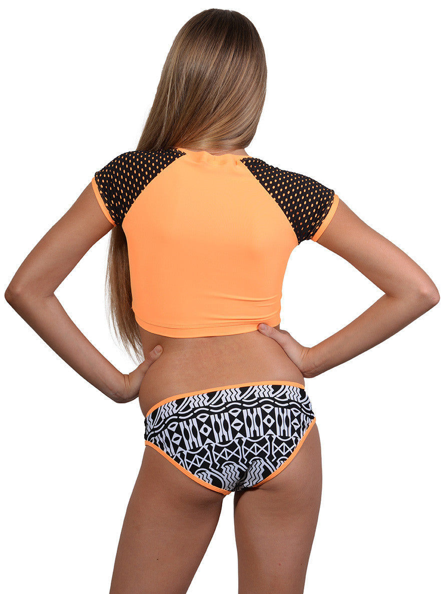 Back view of Madagascar Girls Surf Bikini
