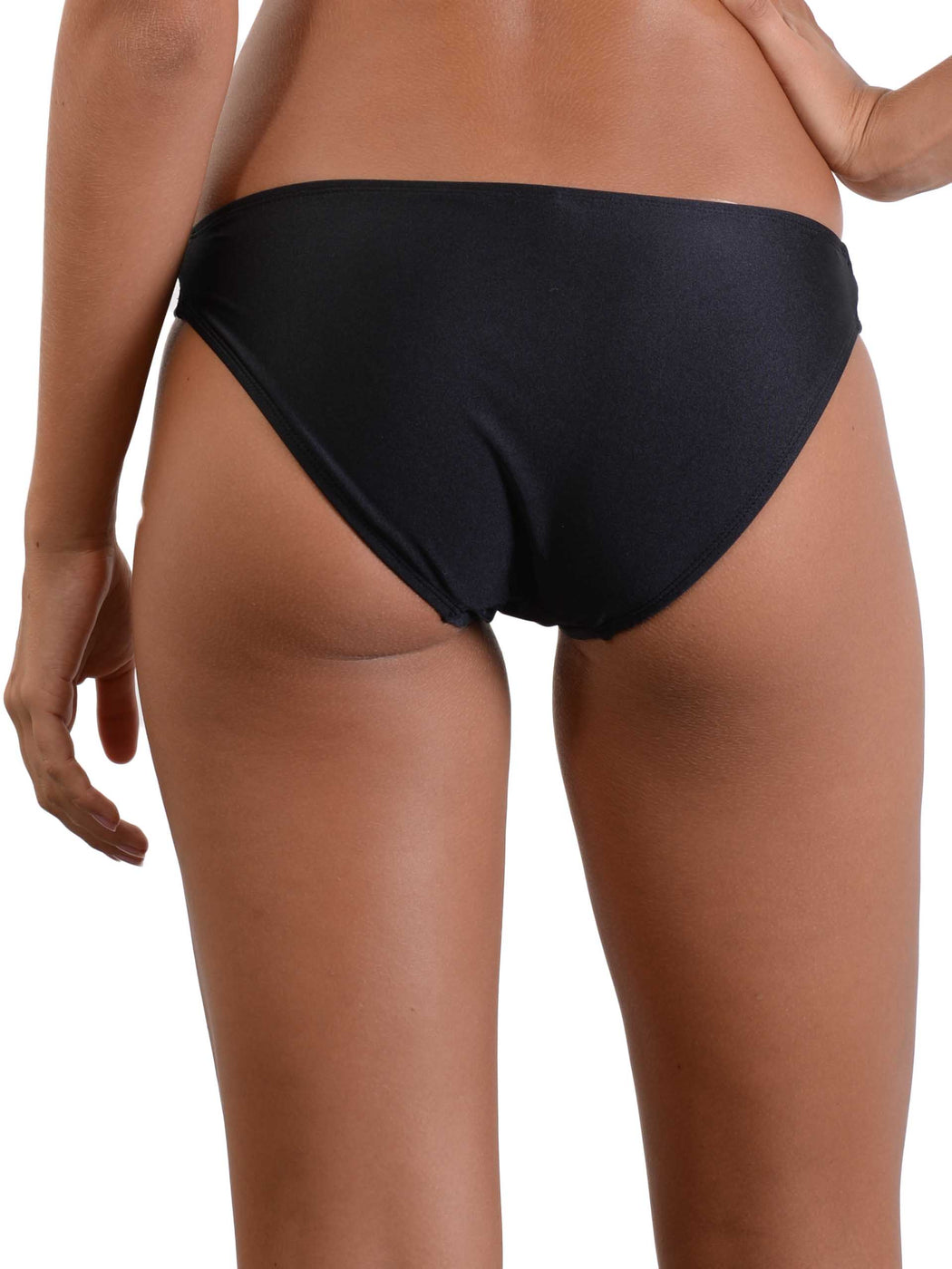 Back of Midnight Palm Hipster Bikini Pant