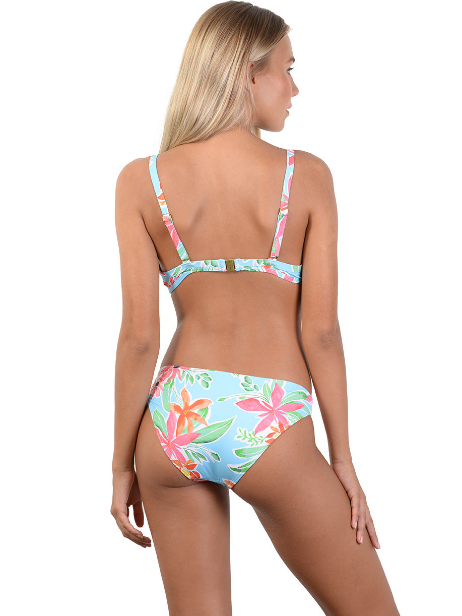 Back view of Paradise Sands D-DD Underwire Bralette Bikini Top