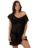 Finch Swim multi way cover-up with waist tie in Black