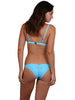 Atoll colour Finch Swim Brazilian bikini bottom with gathered back, brief cut.