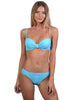 Finch Swim bikini bottom with soft side band, and full back.