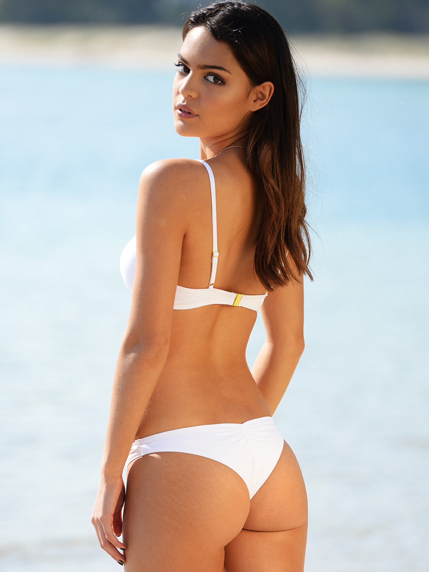 The White Seduce Brazilian Bikini Pant