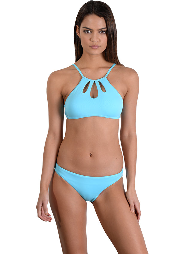 Waterfall Seduce Hipster Bikini Pant with Tear Drop Halter top