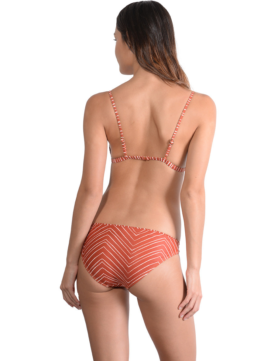 Back view of Sahara Hipster Bikini Pant