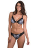Zanzibar Splice Pant and D/DD Bralette by Finch Swim front view