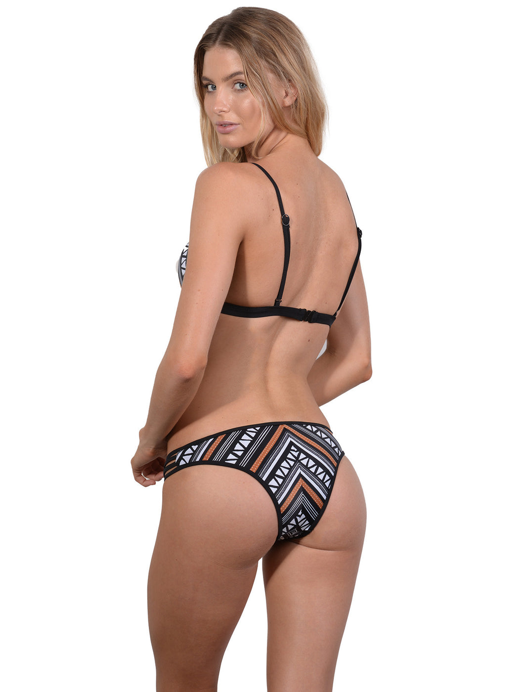 Back view of Zulu Bralette Bikini Top