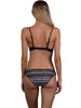 Alternate back view of Zulu Ruche Side Hipster Bikini Pant
