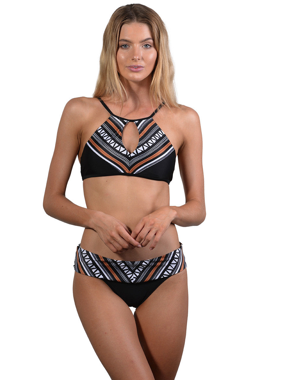 Zulu Band Bikini Pant by Finch Swim