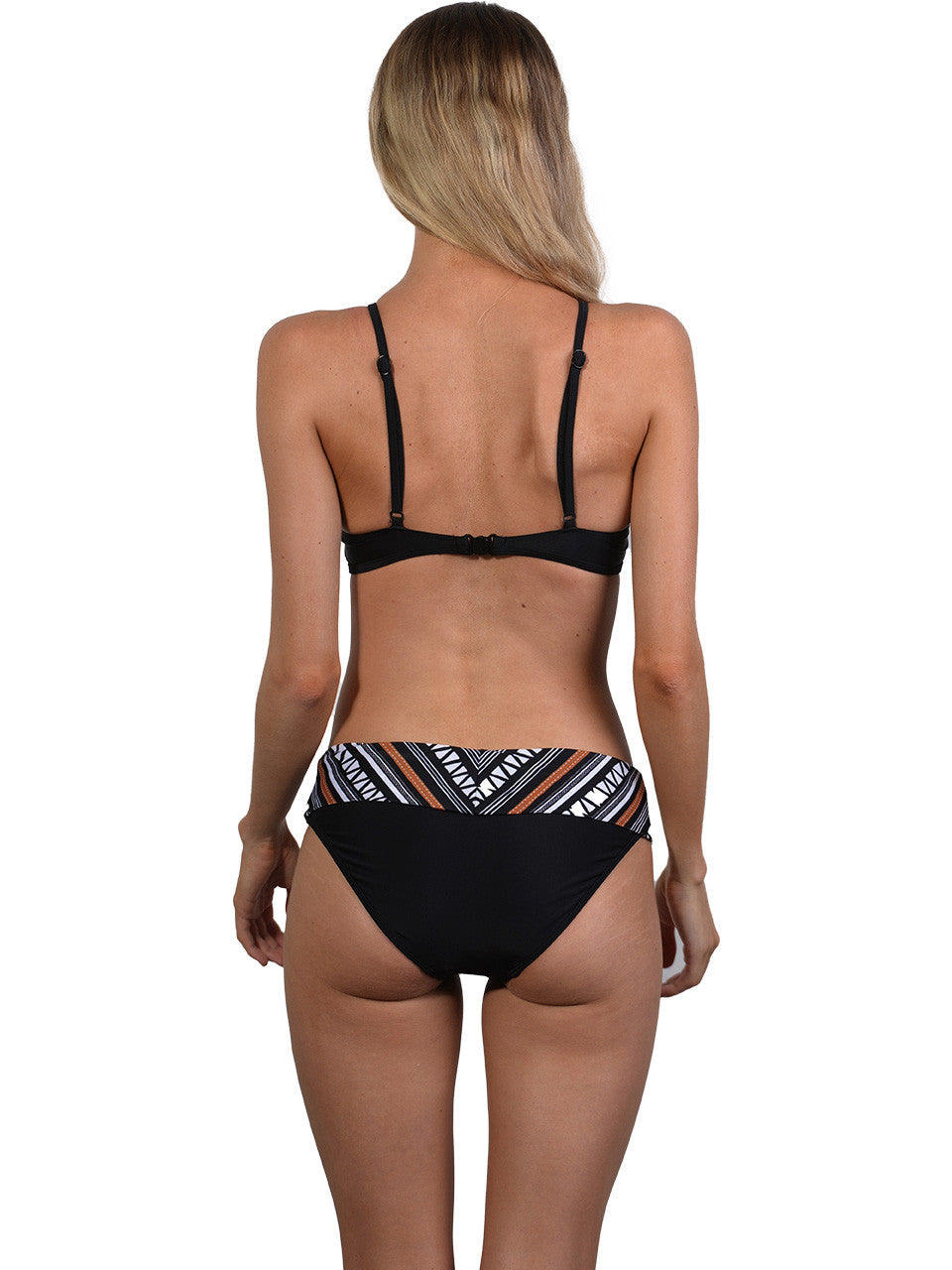 Back view of Zulu Band Bikini Pant
