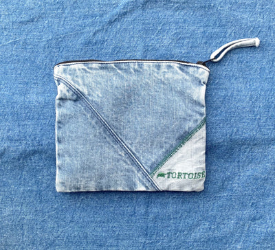 Recycled Denim Pouch