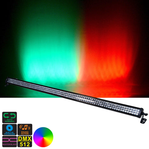 240 x 10 mm LED RGBA Color Wash Light Bar Light