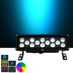 Waterproof LED Architectural Color Washer Bar - 14*Tri-3W RGB