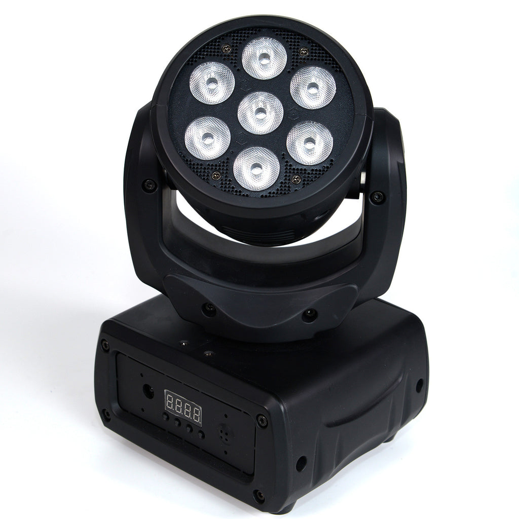 Mini Moving Head Led Wash Light 7 Tri Rgb Lighting Geek