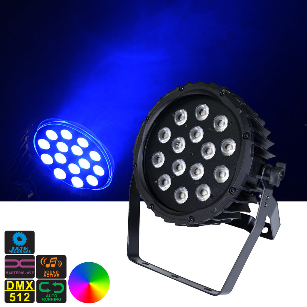 Magik PAR - LED SlimPar Can 15 x 4in1 8W RGBW