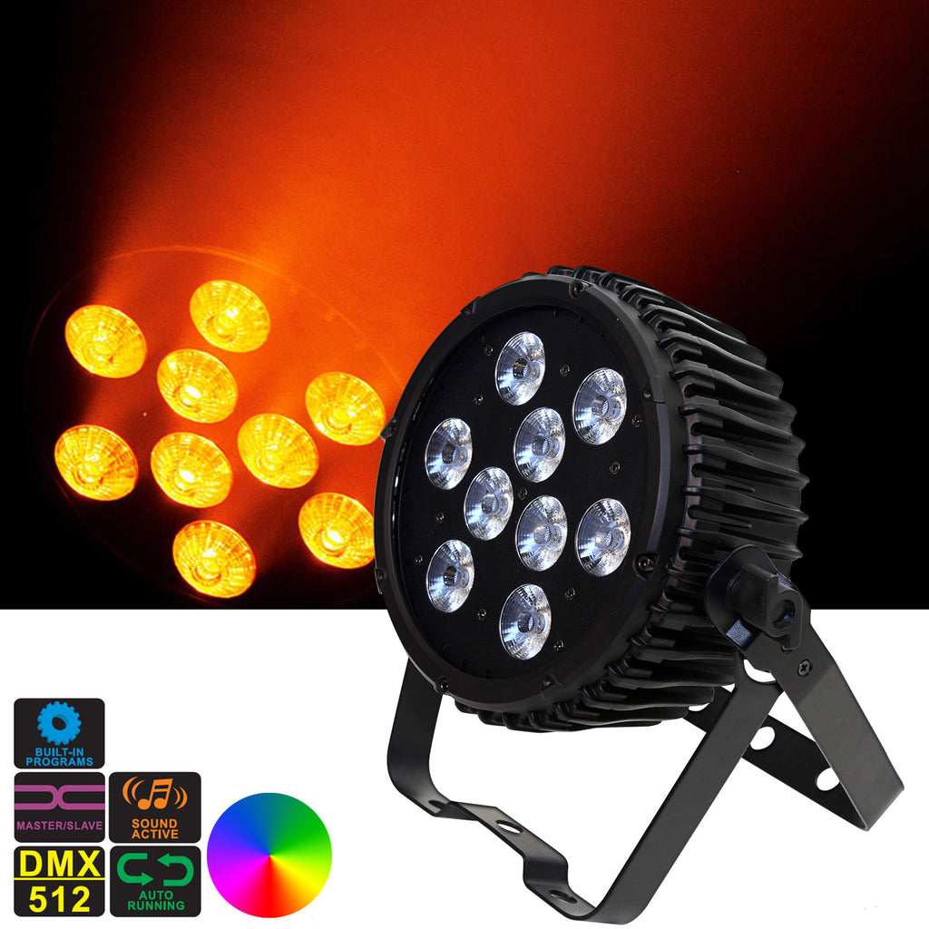 Magik PAR - LED SlimPar Can 9X5in1 RGBAW