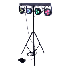 4 Bar LED mobile DJ lighting system