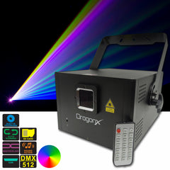 Hawk-1RGB Laser Projector-Full Color compact ILDA 25kpps