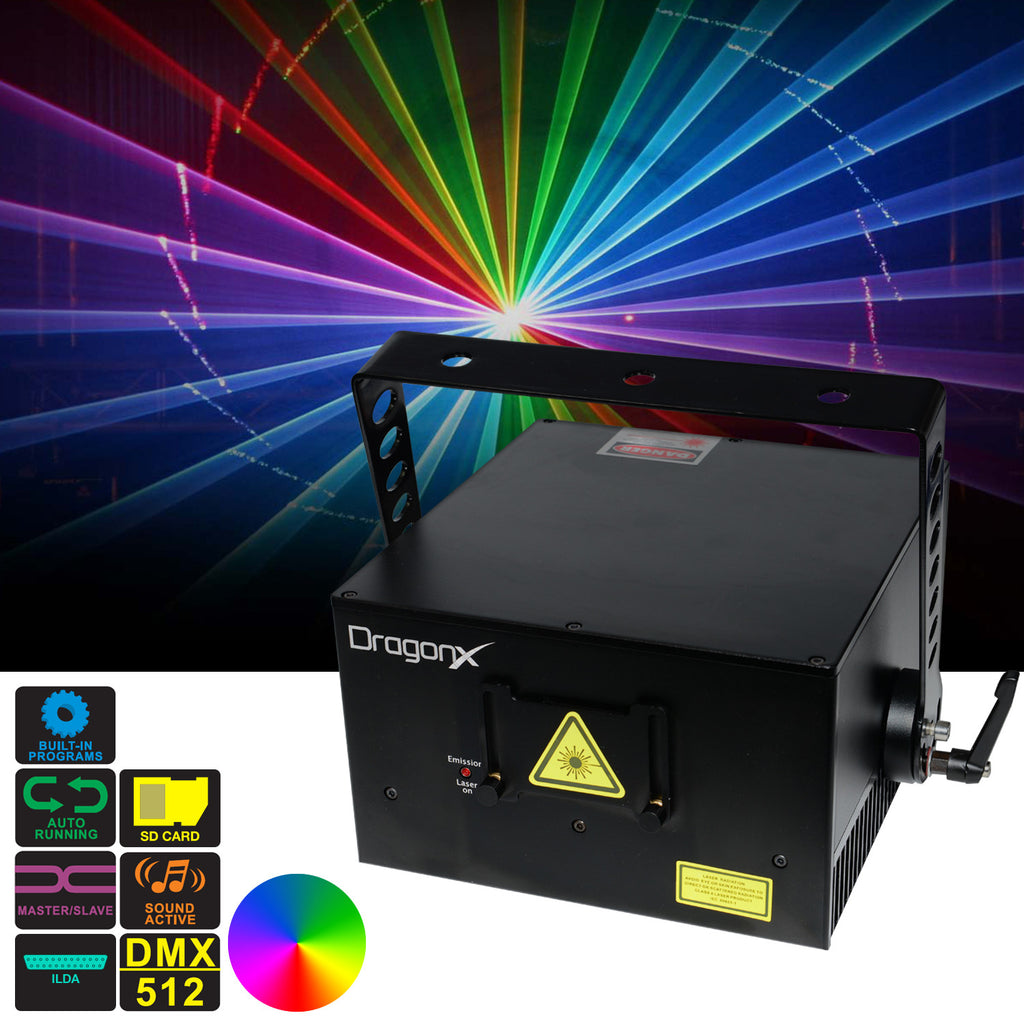 3W RGB laser light show projector