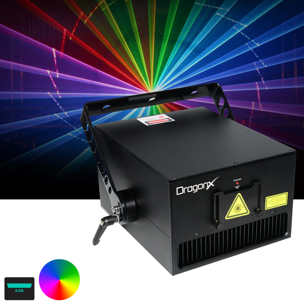 6W RGB High Power Laser Show Projector