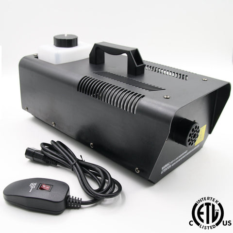 900 watt fog machine with remote control
