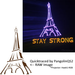 Pangolin QuickShow 2.0 FB3 Laser Show Designer Software + ILDA Cables