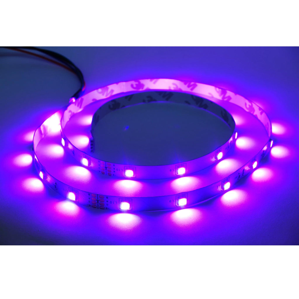 RGB Color Changing LED Tape Light 10m (33ft) Indoor 24V